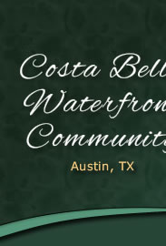 The Costa Bella Waterfront Community
